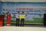PVFCCo tài trợ xây Nhà cộng đồng phòng tránh thiên tai ở Ninh Thuận