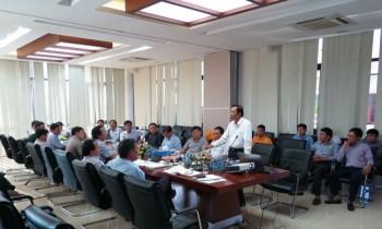 UBND tỉnh Thái Bình làm việc với PV GAS tại Tiền Hải