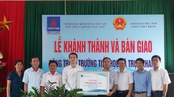 PV GAS tài trợ 4 tỷ đồng xây dựng Trường Tiểu học Trực Khang - Nam Định