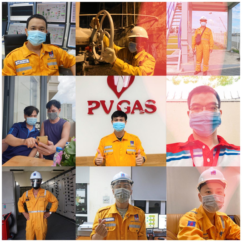PV GAS quyết chiến với đại dịch Covid -19