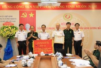 Hội CCB PTSC tổng kết phong trào cựu chiến binh gương mẫu