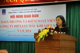 Hội nghị giao ban kế toán trưởng và kiểm soát viên PV Power
