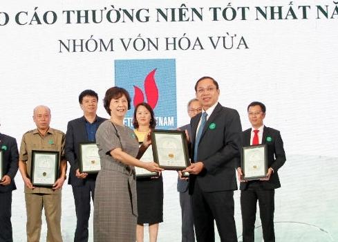 nt2 vao top 10 doanh nghiep co bao cao thuong nien tot nhat