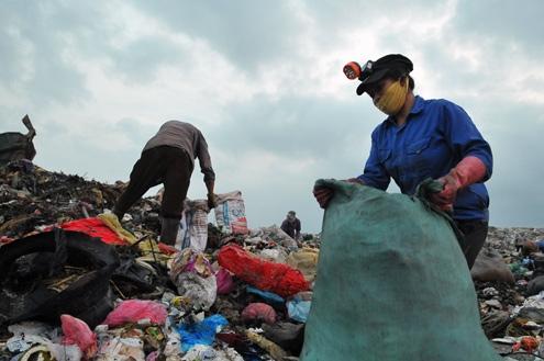 Biến rác thải Hà Nội thành… điện