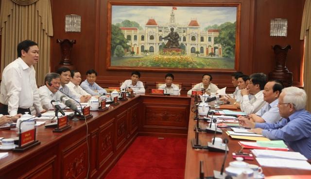 TP HCM kiến nghị Ban Kinh tế Trung ương nghiên cứu giúp 5 vấn đề lớn