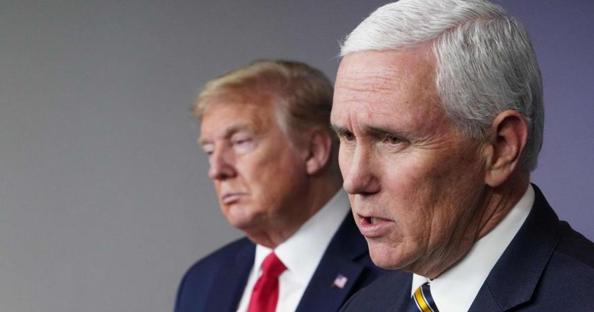 """Cuộc gặp căng thẳng giữa ông Trump và ông Pence trước giờ """"chốt hạ"""" bầu cử"""