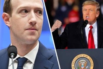 Mark Zuckerberg tuyên bố khóa tài khoản Facebook ông Trump vô thời hạn