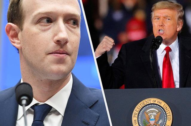 Mark Zuckerberg tuyên bố khóa tài khoản Facebook ông Trump vô thời hạn - 1