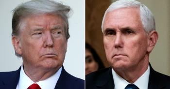 """Ông Trump rạn nứt với """"phó tướng"""" Pence sau thất bại lật kèo"""