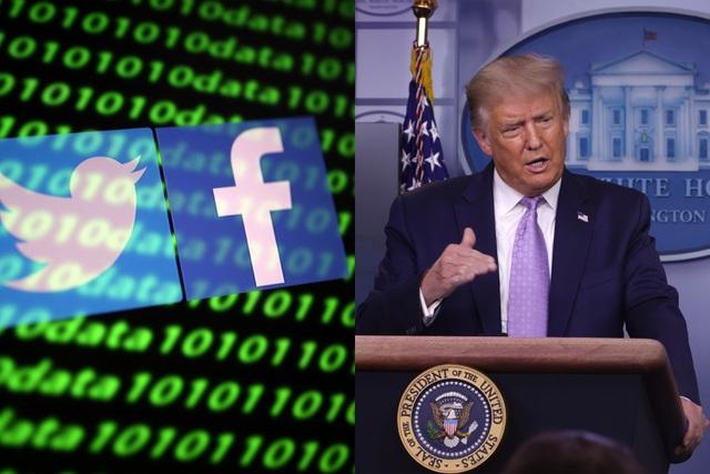 Facebook, Twitter mất 51 tỷ USD sau khi cấm cửa ông Trump - 1