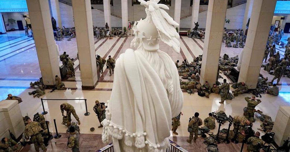 Mỹ siết an ninh, đề phòng bạo loạn trong ngày nhậm chức của ông Biden
