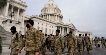25.000 vệ binh quốc gia bảo vệ lễ nhậm chức của ông Biden