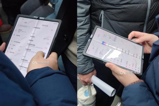 Hình ảnh thực tế chiếc smartphone màn hình gập đầu tiên của Xiaomi - 1