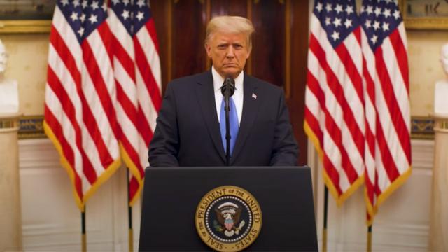 Ông Trump gửi lời tạm biệt trong ngày cuối cùng nhiệm kỳ - 1