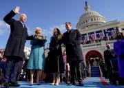 Những hình ảnh ấn tượng trong lễ nhậm chức của ông Biden