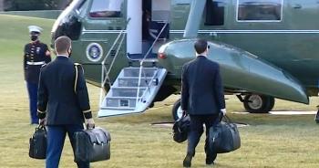 Vali hạt nhân xuất hiện trong lễ nhậm chức của ông Biden