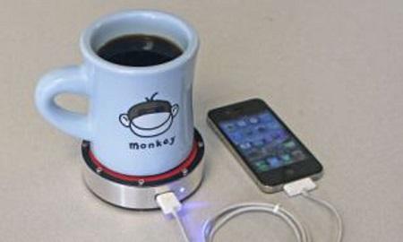Sạc điện thoại di động bằng nước nóng