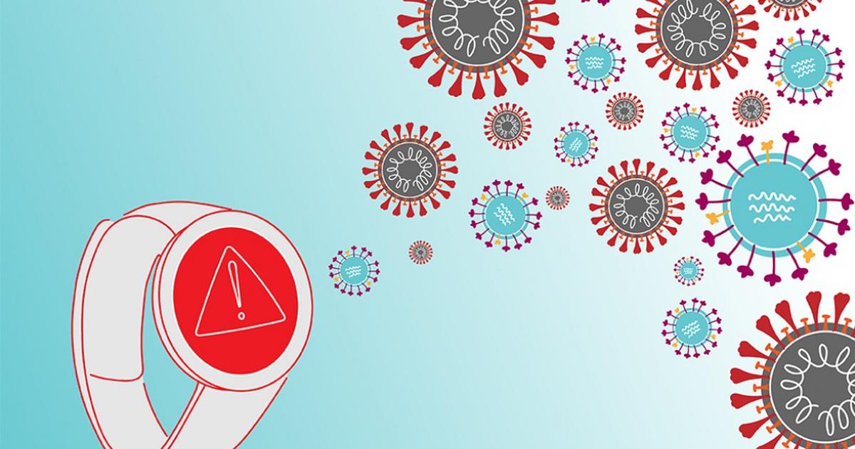 Đồng hồ và vòng đeo tay thông minh có thể phát hiện sớm người mắc Covid-19