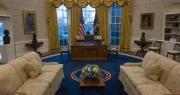 """Ẩn ý của ông Biden qua cách bố trí căn phòng """"đầu não"""" ở Nhà Trắng"""