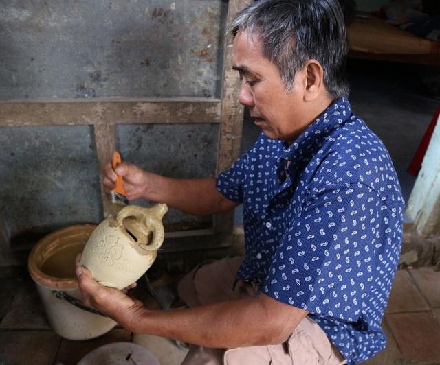 Giáp Tết Tân Sửu, xem nghệ nhân làng gốm Thanh Hà nặn tượng trâu đất - 8
