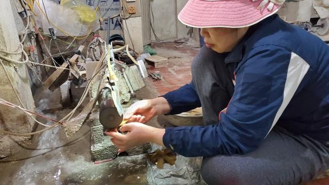 Hà Nội: Thu tiền triệu từ chế tác sừng trâu ngày giáp Tết Tân Sửu - 1