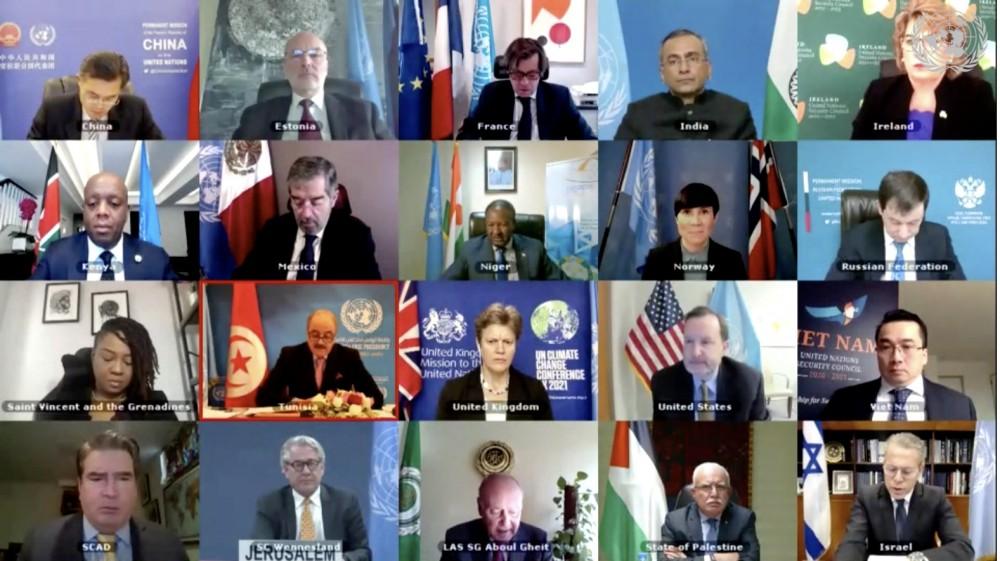 HĐBA thảo luận mở về tình hình Trung Đông, bao gồm vấn đề Palestine