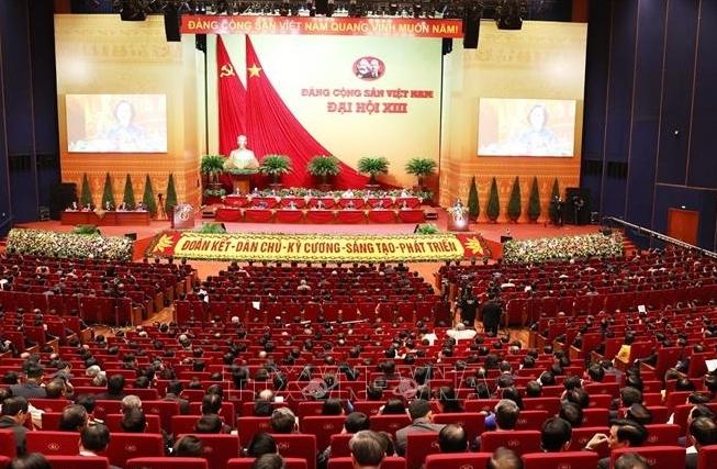 Thông qua số lượng Ủy viên Ban Chấp hành Trung ương khóa XIII là 200 đồng chí