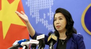 Trung Quốc thông qua Luật Cảnh sát biển, Người phát ngôn lên tiếng