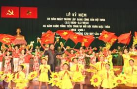 Kỷ niệm 83 năm ngày thành lập Đảng