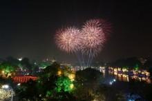 31 điểm bắn pháo hoa đón Xuân 2016 tại Hà Nội