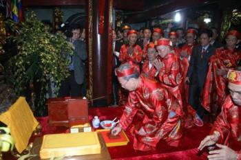 Không phát ấn đền Trần vào đêm 14 tháng Giêng