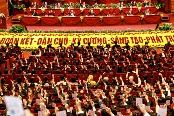 Nhất trí thông qua Nghị quyết Đại hội đại biểu toàn quốc lần thứ XIII