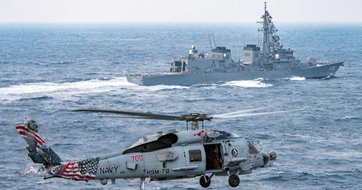 Anh - Nhật ra tuyên bố phản đối thay đổi hiện trạng ở Biển Đông