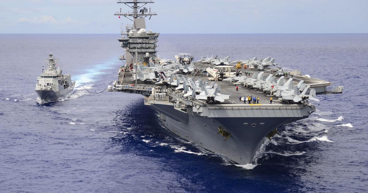 Tàu sân bay Mỹ tiến sát Biển Đông