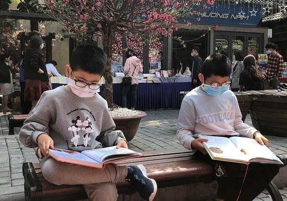 Mừng tuổi bằng sách: Hồi sinh nét đẹp văn hóa đọc
