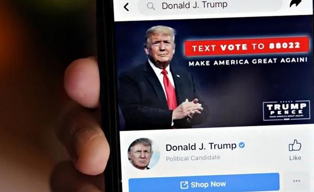 Ông Trump đòi Facebook, Instagram mở lại tài khoản bị đình chỉ vô thời hạn - 1