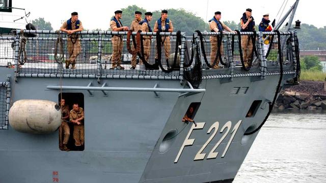 Đức lần đầu đưa tàu chiến tới Biển Đông sau gần 20 năm - 1