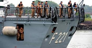 Đức lần đầu đưa tàu chiến tới Biển Đông sau gần 20 năm