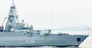"""""""Giải mã"""" hành trình tới Biển Đông sau gần 20 năm của tàu chiến Đức"""