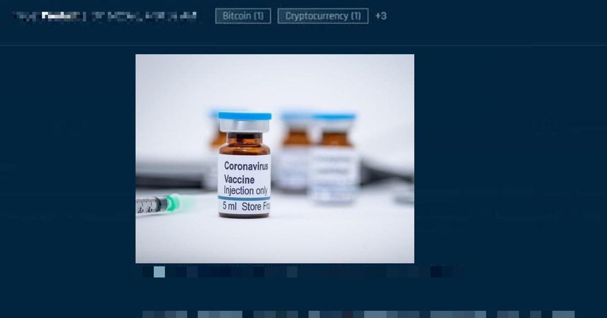 """Mỹ: Vắc xin Covid-19 bị rao bán ở """"chợ đen"""", lên tới 1.000 USD/liều"""