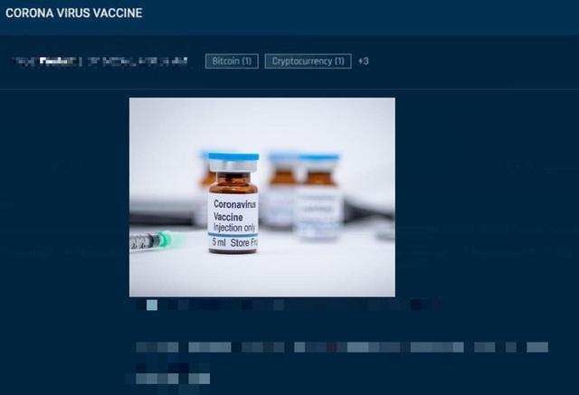Mỹ: Vắc xin Covid-19 bị rao bán ở chợ đen, lên tới 1.000 USD/liều - 1