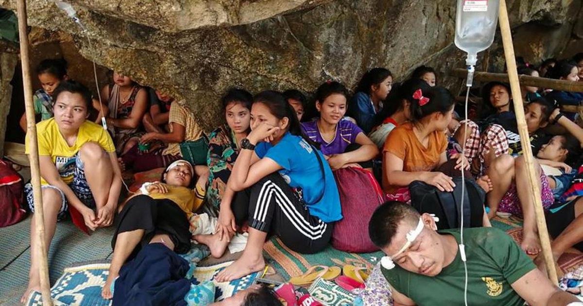 Thảm kịch người tị nạn chạy khỏi Myanmar: 8 bao gạo cho hơn 2.000 người