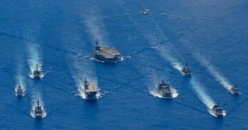 """Mỹ cùng đồng minh lên kế hoạch ứng phó đề phòng """"chiến tranh Đài Loan"""""""