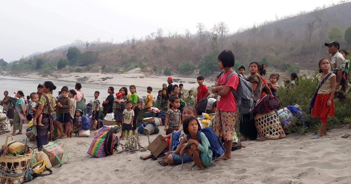1.000 người Myanmar tháo chạy khỏi đất nước trong một ngày