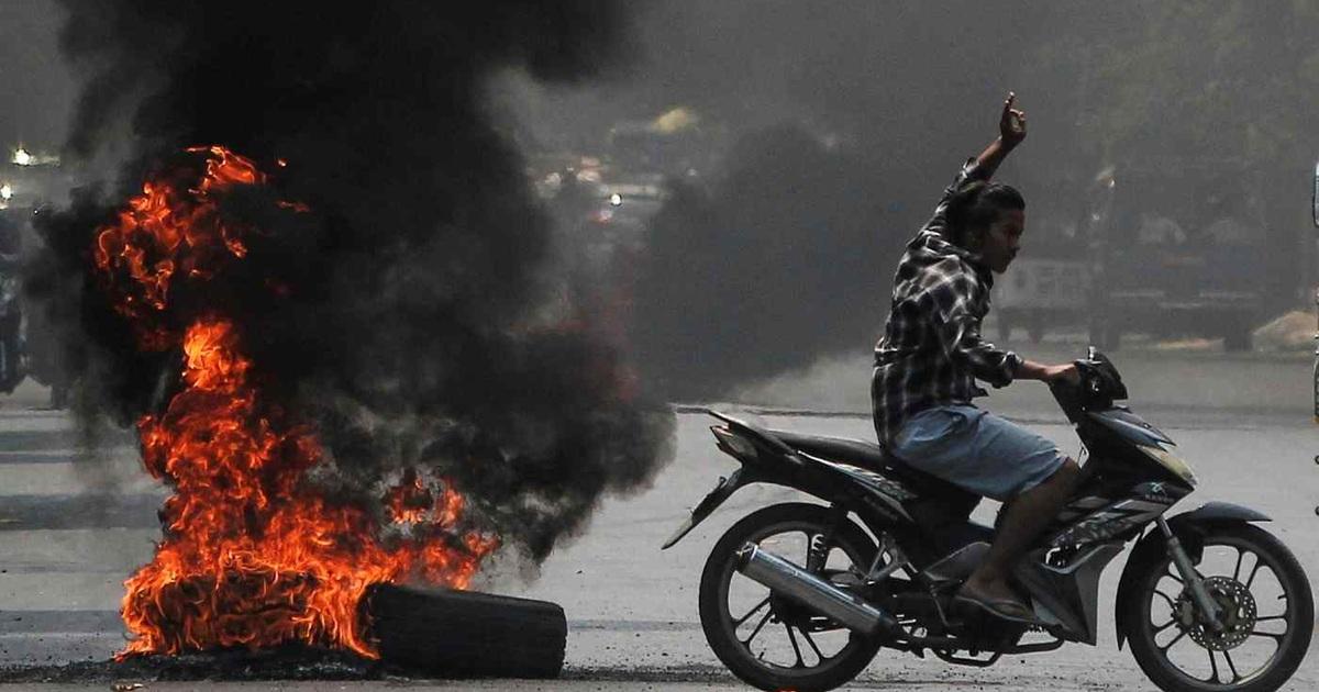 Kinh tế Myanmar tê liệt hậu binh biến