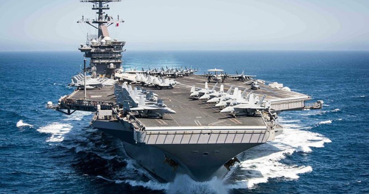 """Mỹ - Trung dồn dập đưa tàu chiến tới các vùng biển """"nóng"""""""