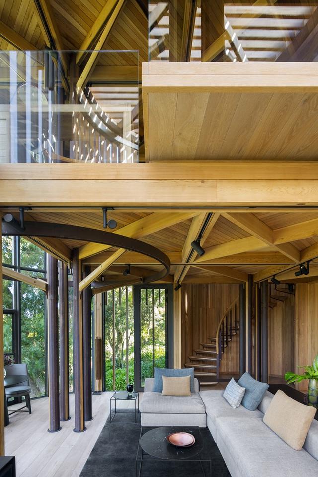 Dinh thự phong cách safari sang trọng giữa rừng cây ở Nam Phi - 12