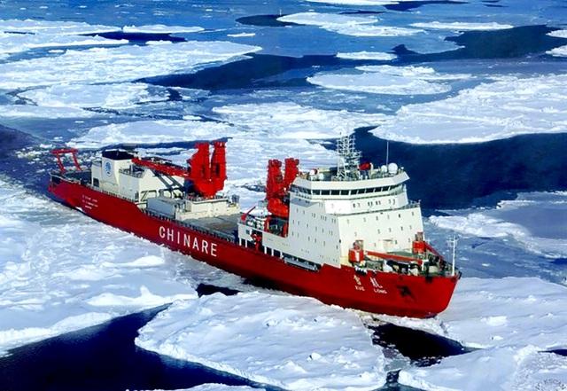 Trung Quốc tranh phần tại Bắc Cực - 1