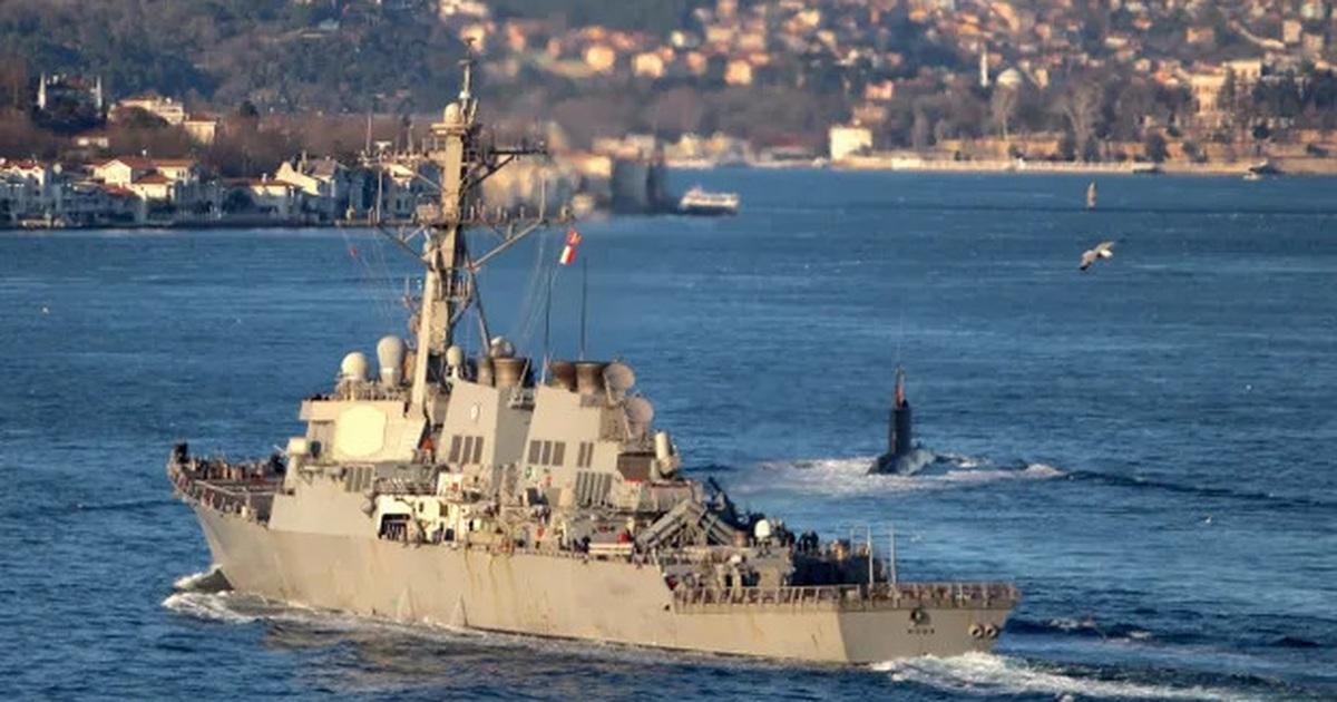 """Nga """"nắn gân"""", Mỹ bất ngờ đổi kế hoạch đưa tàu chiến đến Biển Đen"""