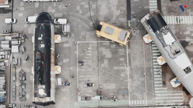 Pháp cắt đôi 2 tàu ngầm hạt nhân, ghép lại thành 1 chiến hạm mới - 1
